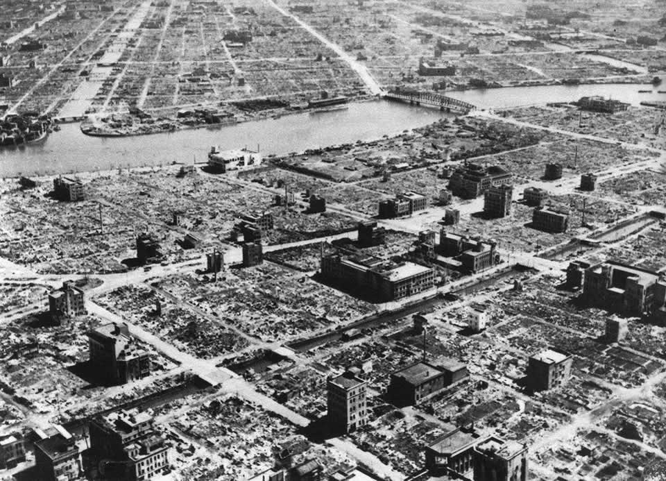 Osaka (March-August 1945) – 10,000 killed