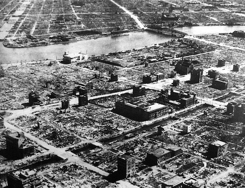 tokyo most devastating bombings ww2