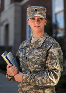 Degrees while serving in the military